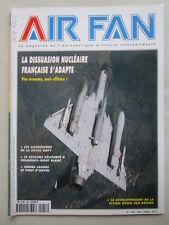 AIR FAN N°258 CHAMONIX MONT BLANC FRADU HAWK FOCH CHIEN JAUNE BOEING FLYING BOOM