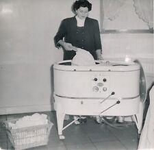 Machine à Laver c. 1950 - Lave Linge SAUTER - DIV 12084