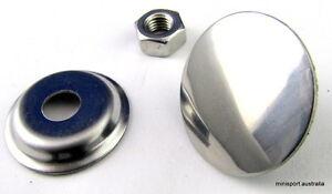 Stainless steel universal/aerial hole plug.