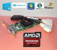 HP Pavilion a6763w a6767c AMD Radeon Dual DVI Monitor Video Card