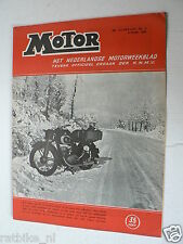 MO5206-DKW SNOW COVER,KNMV KAMPIOENEN 1951 FRANS BAUDOIN,TINUS METZELAAR,CZ ADD,