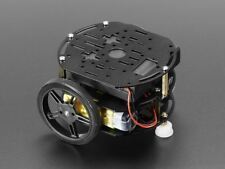 Adafruit Mini 3-Layer Round Robot Chassis Kit - 2WD with DC Motors [ADA3244]
