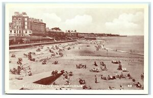 Postcard Margate Kent Westbrook Promenade and Sands