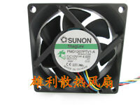 For SUNON PMD1207PTV1-A 12V 4.6W 7CM 7025 4-Wire PWM Cooling Fan