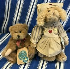 Vintage Boyd's Bears Wilson and Emily Babbit The Rabbit Both Retired Free Ship