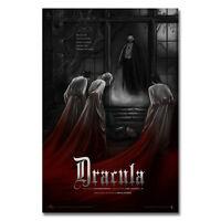 Dracula Movie Silk Poster RARE Horror Vampires Universal Monster 24x36inch J033
