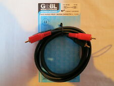 Cavo Audio Professionale G&BL (RCA Maschio / RCA Maschio L. 1,5 m.)