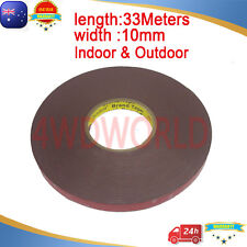 3M Tape 10mmX 33 Meters Genuine Automotive Acrylic Plus Double Face Sided OZ