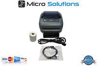 Zebra ZP450 Direct Thermal Printer USB Parallel Serial w/ One Label Roll 4x6