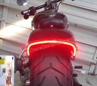 LED Fender Brake Light/Turn Signal Kit - Harley Davidson Breakout - Smoked Lens
