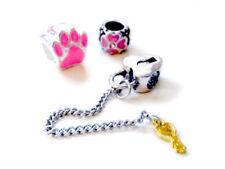 Charms y pulseras de charms de bisutería de aleación