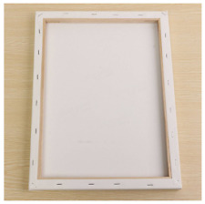 White Blank Square Canvas Painting Drawing Board Wooden Frame For Art Artist Oil