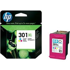 Genuine Original HP 301XL Colour Ink Cartridge For Deskjet 3052A Inkjet Printer