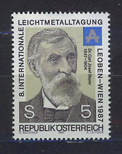 AUSTRIA 1987 MNH SC.1401 Dr.Karl Josef Bayer,chemist