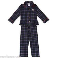 Juicy couture flanelle bleu marine/Plaid Pyjama Âge 6 Polyester