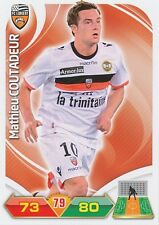 MATHIEU COUTADEUR FC.LORIENT TRADING CARDS ADRENALYN PANINI FOOT 2013
