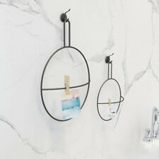 Bathroom Wall Mounted Towel Holder Hanger Clothes Hanging Ring Accessories Rack