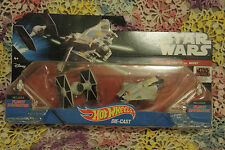 Star Wars Hot Wheels Starship 2-Pack - TIE Fighter vs. Ghost - NEW!