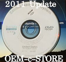 2007 2008 Acura TL & TL Type-S Navigation White DVD Map U.S. Canada 2011 Update