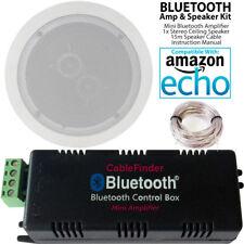 Casa inteligente Bluetooth amplificador Kit de altavoz de techo estéreo y 1x – Amplificador Compacto HiFi