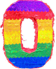 BIRTHDAY NUMBER 0 PINATA BIRTHDAY OR PARTY GAME/ DECORATION