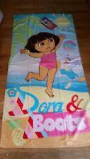 NWT Dora the Explorer Hola! Beach Bath Towel Pretty!!