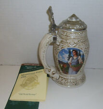 New Anheuser Busch Collectors Club Membership Stein 1998 Old World Heritage CB7