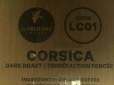 Alterra Dark Roast Coffee Corsica 76 Pkts LC01 Barista FLAVIA Lavazza BBD10-20