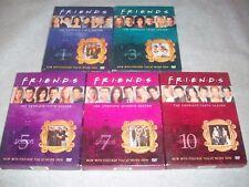 Friends Seasons 1,3,5,7,&10 dvd