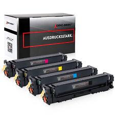 4 Toner kompatibel zu HP CF540X-CF543X 203X für Color Laserjet Pro M254 M281