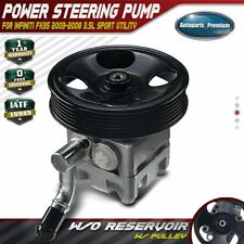 Power Steering Pump w/ Pulley for Infiniti FX35 6Cyl 3.5L 2003-2008 49110-CG000