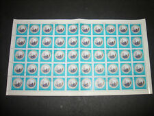 Hungary 1972 Herendi Porcelain Full Complete Sheet #S181