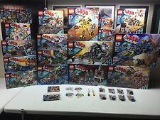 LEGO~The Lego Movie~20 Sets 70800-70818, 30280 30282, Mini figures Keychains NEW