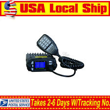 QYT KT-8900D Dual Band Quad Standby 25W VHF UHF Car Vehicle Ham Mobile Radio US