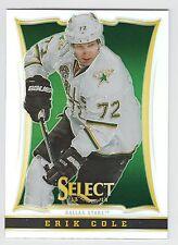ERIK COLE 2013-14 Panini Select Hockey Prizm Card #105 Stars N14