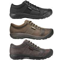 Keen Austin Herren-Lederschuhe Chaussures Basses Décontractées D' Été