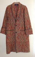 Ralph Lauren Collection -Amazing - Sz S M L Paisley Boho Long Jacket Coat ++++++