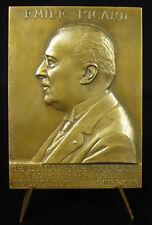 Médaille Emile Picard mathématicien mathématique méthode itérative 1927 medal