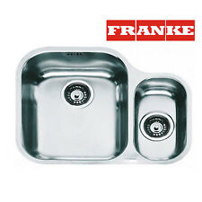 FRANKE AMX 160 1.5 Bowl Undermount Kitchen Sink Stainless Steel Waste&Overflow