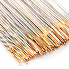 50 PACK Lot Golden Tail Embroidery Fabric Cross Stitch Needles Size 24 For 11CT