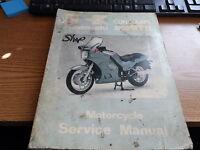 OEM Kawasaki Service Manual 1986 Concours 1000GTR ZG1000 99924-1065-01