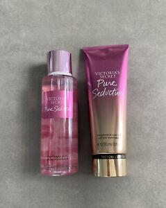 New Victoria's Secret Pure Seduction fragrance mist & lotion 8.4 FL. Oz