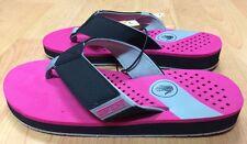 Body Glove Sandbar Women's Flip Flops Sandals Size 7 Surf Beach Ocean Hot Pink