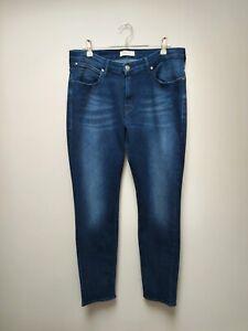 Wrangler Womens Slim Fit  Blue Jeans - W32 L32