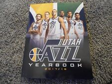 2017 2018 UTAH JAZZ YEARBOOK PROGRAM Donovan Mitchell Rudy Gobert Rubio Hood