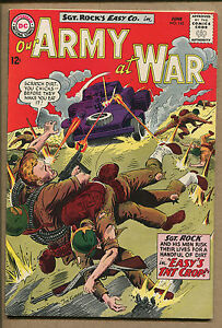Our Army At War #143 - Easy's TNT Crop! - 1964 (Grade 6.5) WH