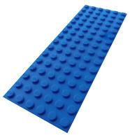Lego 2 Stück blaue Platte 6x16 3027 Neu Platten in blau Bauplatte Basics