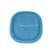 Design Wanduhr, Bürouhr, Küchenuhr wall-clock (017Blau)