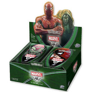 MARVEL / DC Vs System TCG - Web of Spiderman Cards Sealed Booster Box #NEW