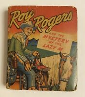 VINTAGE: 1949 ROY ROGERS AND THE MYSTERY OF THE LAZY M BETTER LITTLE BOOK ~ C15